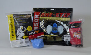 Spray Foam Personal Protection Kit Gerson Respirator Gloves Goggles Tyvek