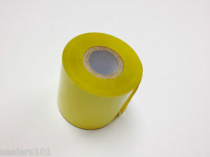 Hot Stamping Foil Ribbon For Embossing And Printing Yellow 2 50 X 110yd