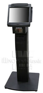 Ncr 7402 2151 Complete Kiosk W Intg Scanner Fixed angle Mount Printer Stand