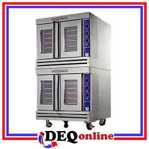 Bakers Pride Bco g2 Commercial Double Deck Gas Convection Oven