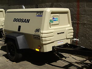 Ingersoll Rand P 185 Cfm Air Compressor 185cfm Towable 2012 Approx 300hrs