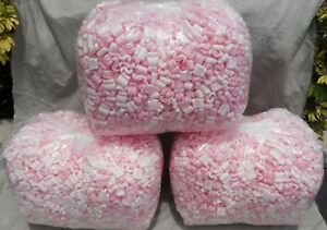 New 10 5 Cu Ft Pink Anti Static Packing Popcorn Peanuts Fast Free Shipping