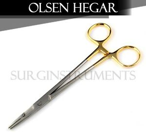 10 T c Baby Olsen Hegar Needle Holder 4 50 Surgical Dental 4 50 4 5 4 5