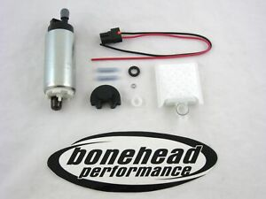Walbro 255lph Hp Electric Fuel Pump W Install Kit 1989 1995 Mazda Rx 7 Turbo