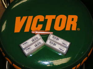 Victor Cutskill Cutting Tips Lot Of 5 Tips Size 3 5405 4464