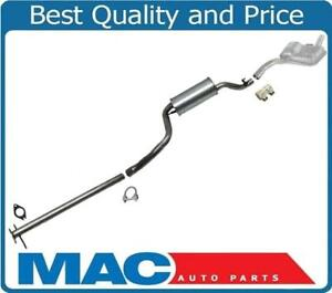 New Muffler Exhaust System For Ford Focus 2 0 Hatchback Zx3 Zx5 2000 2004