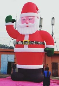 26ft Inflatable Santa Christmas Holiday Decoration Made to order