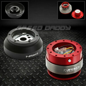 Nrg Steering Wheel Short Hub Adaptor gen 2 0 Red Quick Release 69 02 Camaro jeep