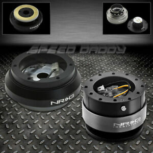 Nrg Steering Wheel Hub Gen 2 0 Black Quick Release Kit Toyota Mr2 Supra Scion Tc