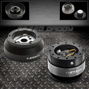 Nrg Steering Wheel Short Hub gen 2 0 Black Quick Release 69 02 Camaro corvette