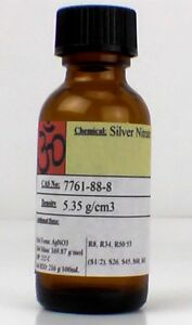 Silver Nitrate 5 Gram Large Crystals Or Powder