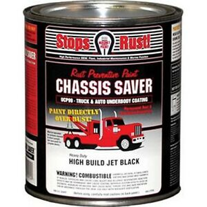 Magnet Paint Ucp99 04 Chassis Saver Paint Gloss Black 1 Quart Can