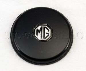 Classico Horn Button Emblem Black Emblem With Small Mg White Black Logo