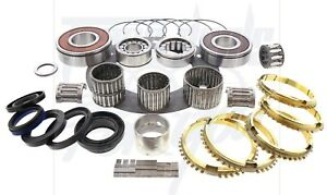 Fits Jeep Ax15 5spd Transmission Deluxe Rebuild Kit W Needle Bearings