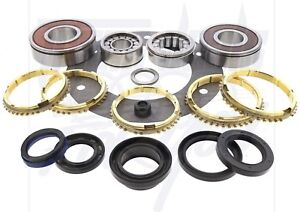 Fits Jeep Ax15 Ax 15 5 Speed Transmission Rebuild Kit With Synchro Rings 85 on