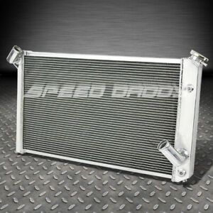 3 Row Tri Core Aluminum Racing Cooling Radiator 73 76 Chevy Corvette V8 5 7 7 4