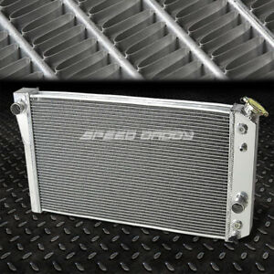 3 Row Core Full Aluminum Racing Radiator 82 02 Chevrolet S10 S 10 V8 Conversions