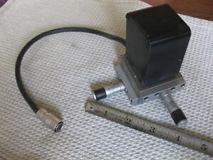 Newport Klinger Xy Table Micrometer Adjustable Micro Control With Camera Sensor