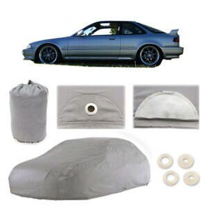 1986 2001 Acura Integra 4 Layer Car Cover Fitted Water Proof Snow Rain Sun Dust