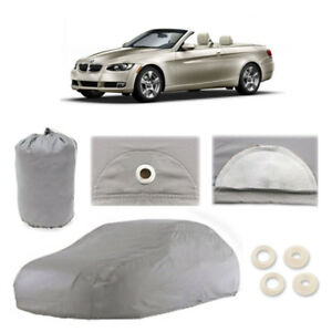 Bmw 328i 4 Layer Car Cover Fitted Water Proof Outdoor Rain Snow Sun Dust