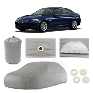 Bmw 5 Series 5 Layer Car Cover Fitted In Out Door Water Proof Rain Snow Sun Dust