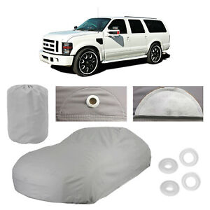 Ford Excursion 5 Layer Suv Car Cover Outdoor Fitted Water Proof Rain Sun Dust