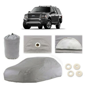 Ford Expedition 5 Layer Suv Car Cover Outdoor Water Proof Rain Sun Dust New Gen