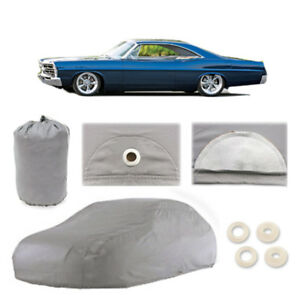 Ford Galaxie 500 4 Layer Car Cover Fitted Outdoor Water Proof Rain Snow Sun Dust
