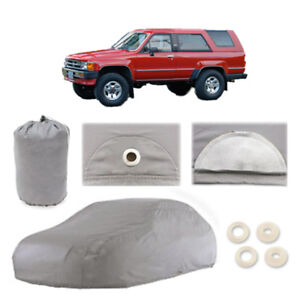 Fits Toyota 4runner 4 Layer Suv Car Cover Outdoor Water Proof Rain Sun 1st Gen