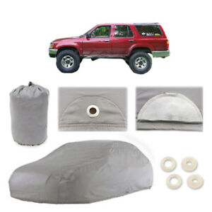 Fits Toyota 4runner 5 Layer Suv Car Cover Outdoor Water Proof Rain Sun 2nd Gen