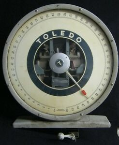 Vintage Industrial Steampunk Toledo Scale Top 1022 12