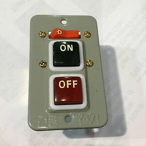 Koino Kh 202 Push Button Switch 2phase 250vac 10amps On off Switch