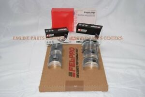 Chevy gmc hummer 6 5 6 5l Engine Rering Kit Piston Rings bearings gaskets 94 96