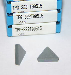 Tpg 322 T00515 Q65 Valenite 10 Inserts Factory Pack