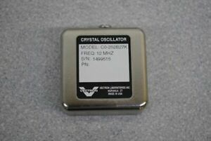 Vectron Laboratories Crystal Oscillator Co 252b27k 12mhz New