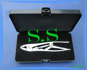 Plate Gripper Spine Orthopedic Surgical Instruments S s 107