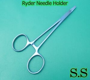 Ryder Needle Holder 7 Titanium Surgical Instruments