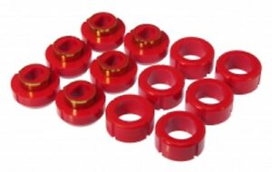Prothane 81 87 Chevy Gmc C K Truck Standard Cab Body Mount Bushing Kit Red 7 108