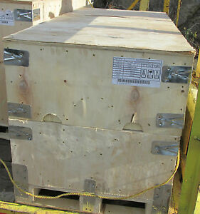 Wooden Shipping Packing Crate Crates 54 X 26 X30