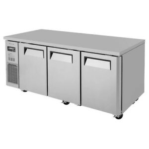 Turbo Air Jur 72 n6 72 Side Mount Stainless Undercounter Refrigerator