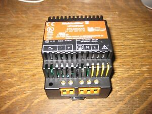 Weidmuller Connect Power Cp Snt 25w 5vdc 5a Power Supply Din 100 240vac Input