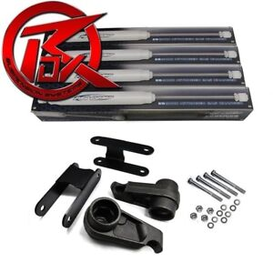 For 04 10 Chevy Colorado 3 Front Rear Shackles Lift Kit Shocks 4x4 4x2 Z71