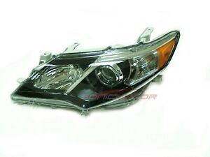 For 2012 Toyota Camry Se Driver Side Headlight Head Light Lamp Lh