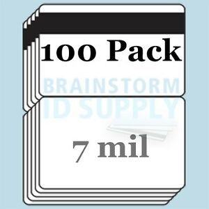 7 Mil Hico Mag Stripe Cc size Butterfly Laminate Pouches For Teslin 100 Pack
