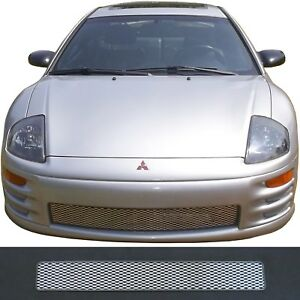 Ccg Mesh Grill Insert For 00 02 Mitsubishi Eclipse Diamond Xxl Flat Grille