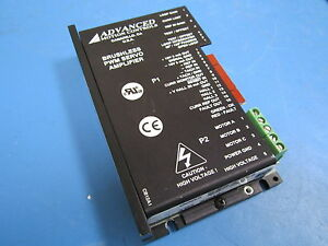 Advanced Motion Controls Brushless Pwm Servo Amplifier B12af