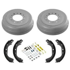 For Toyota Tacoma 4WD Set of Rear 6 Lug Brake Drum /& Shoe 40551051//S83559N