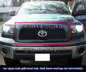 Fits 2010 2013 Toyota Tundra Black Stainless Steel Mesh Grille Insert