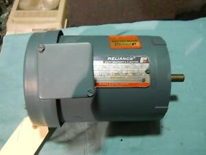 Reliance 3 4 Hp Ac Motor 3450 Rpm 208 230 460v