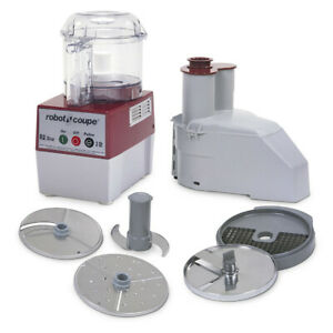Robot Coupe R2 Clr Dice Combination Electric Food Processor